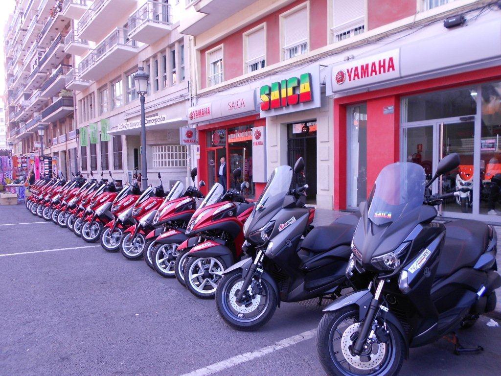 Nuevo servicio de alquiler de motos Yamaha