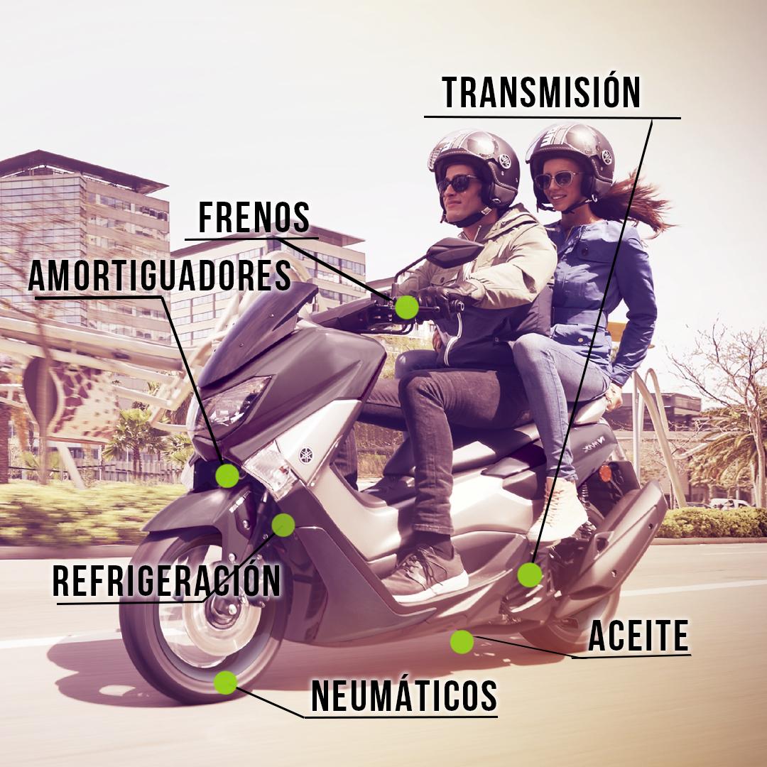 Viajes en moto sobre ruedas